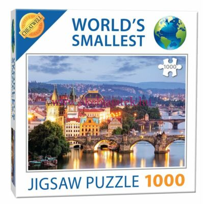 Prága, A világ legkisebb 1000 db-os kirakója - Cheatwell