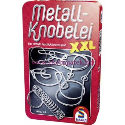 Ördöglakat gyűjtemény,Metall-Knobelei XXL 7 éves kortól - Schmidt Spiele