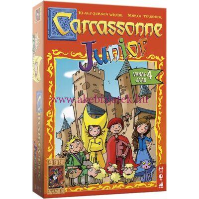 Carcassonne Junior, stratégiai társasjáték 4 éves kortól - Hans im Glück