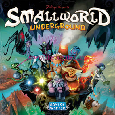 Small World Underground, stratégiai társasjáték 8 éves kortól - Days of Wonder