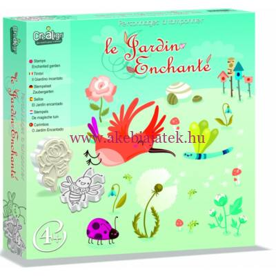 Mese nyomdakészlet, Varázslatos kert - Le Gardin Enchanté- Crealign