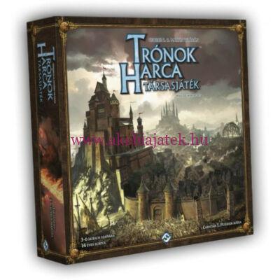 Trónok harca – 2. kiadás stratégiai társasjáték - Delta Vision