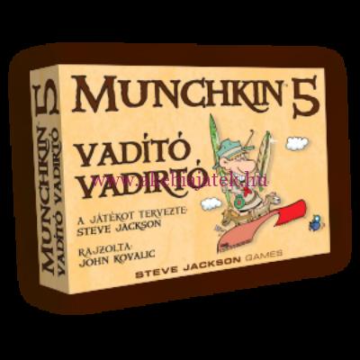 MUNCHKIN 5. Vadító vadírtó kiegészítő - Delta Vision