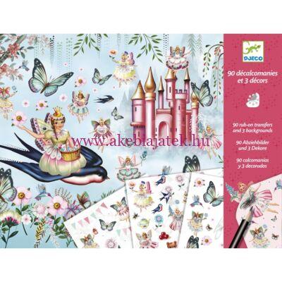 Tündérországban - In Fairyland satírozós technika 4-8 éves korig - Djeco