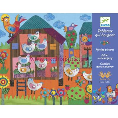 Kis farm mozgatható képkészítő készlet 4-8 éves korig - Djeco