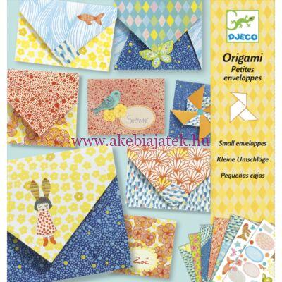 Origami - Kicsi borítékok - Little envelopes 7-13 éves korig - Djeco