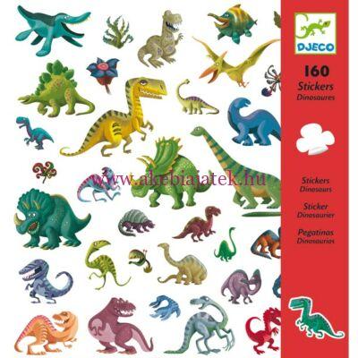 Matricák - Dinoszauruszok - Dinosaurs 4 éves kortól - Djeco