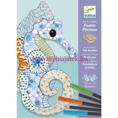 Mintázatok ceruzával és filctollal - Motif art 7-13 éves korig - Djeco