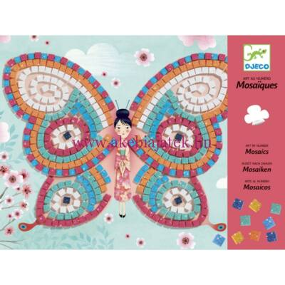 Mozaikkép készítés - Pillangók - Butterflies 4-8 éves korig - Djeco