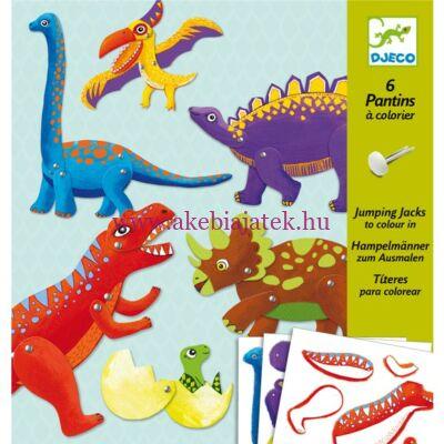 Mozgatható figurák - Dinók - Dinos 6-11 éveseknek - Djeco design by