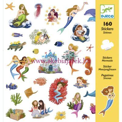 Matricák - Sellők - Mermaids 4 éves kortól - Djeco