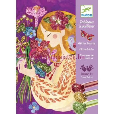 A virágok illata - The scent of flowers homokszóró 7-13 éveseknek - Djeco