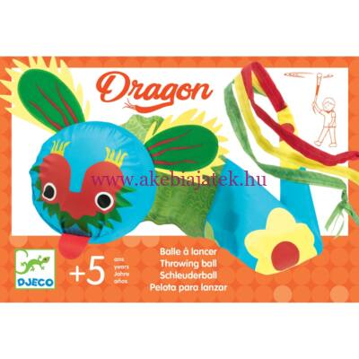 Üstökös labda, Dragon Throwing Ball - Djeco