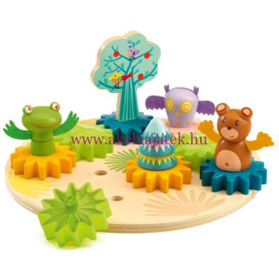 Figurális építőjáték - Faforgató - Woodytwist - Djeco