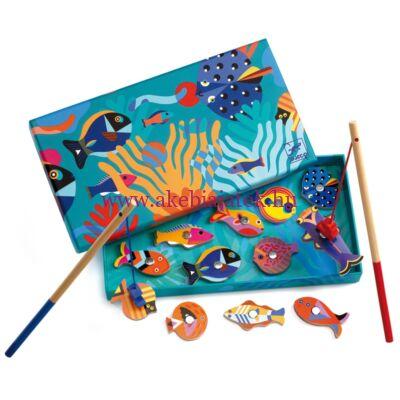 Mágneses horgászat 2 éves kortól, Halgrafika - Fishing graphic - Djeco