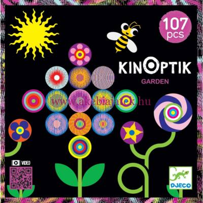 Kinoptik Garden, optikai kirakó puzzle KERT 5 éves kortól - Djeco