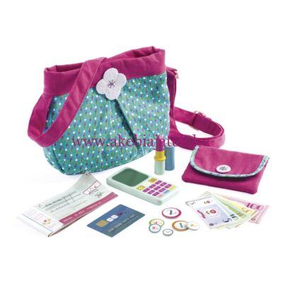 Kézitáska kiegészítőkkel, Handbag and accessories - Djeco