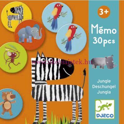 Dzsungel memória, Memo Jungle 3 éves kortól - Djeco