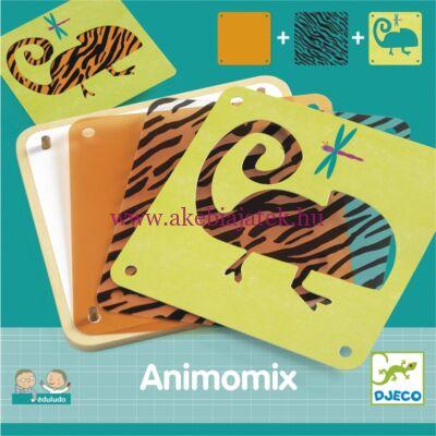 Animonix Eduludo társasjáték 3 éves kortól - Djeco