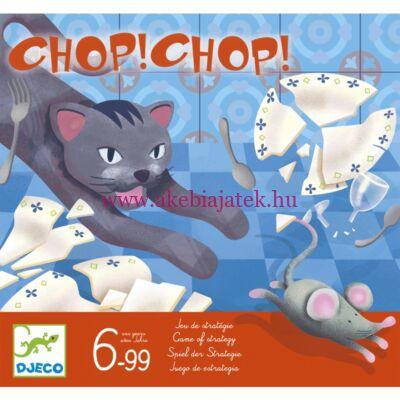 Macska-egér társasjáték, Chop Chop - Djeco