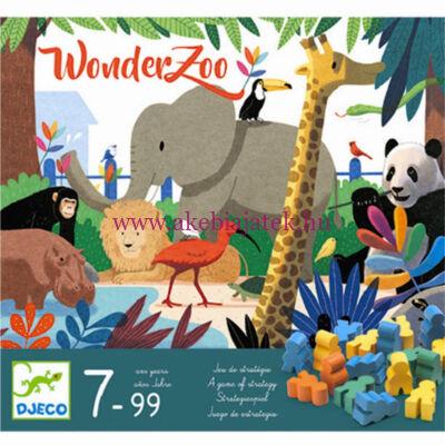 WonderZoo állatkertépítő, taktikai társasjáték - Djeco