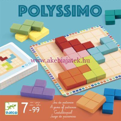 Polyssimo logikai játék, tetris négyzetkirakó - Djeco