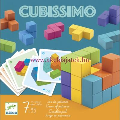 Cubissimo logikai játék, kockakirakó - Djeco