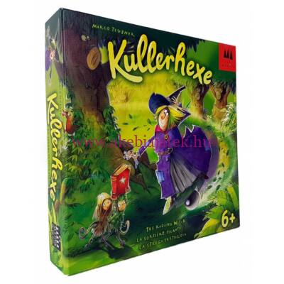 Banyakanyar ügyességi társasjáték - Drei Magier Spiele