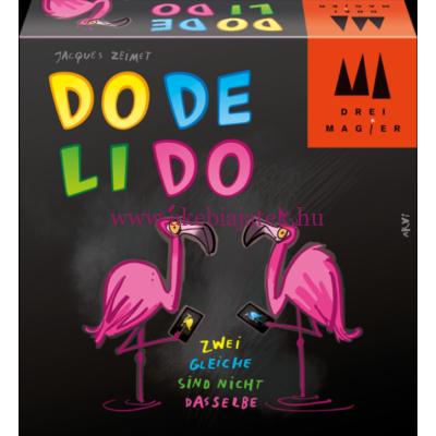 Dodelido, gyorsasági kártyajáték 8 éves kortól - Drei Magier Spiele