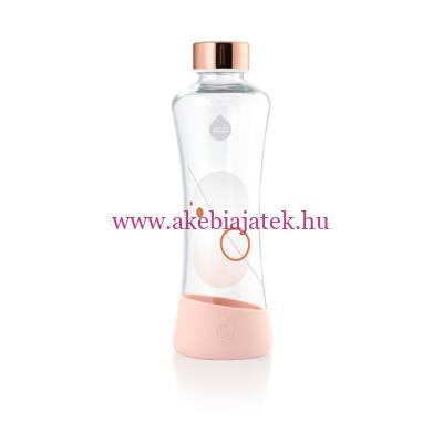 Metallic Rose Gold, Metallic kollekció üvegkulacs 550 ml – Equa