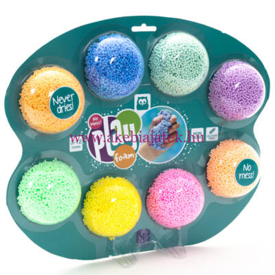 Play Foam gyöngy gyurma, 8db - Eurekakids