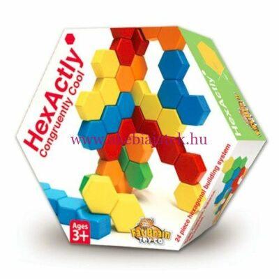 Hexactly 3D építőjáték - Fat Brain Toys