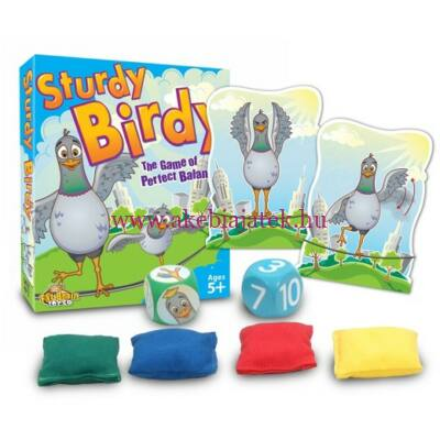 Ügyes madárka, Sturdy Birdy - Fat Brain Toys