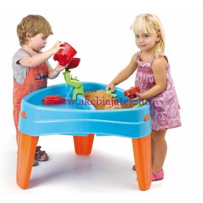 Játszósziget, vizező-homokozó asztal - Feber