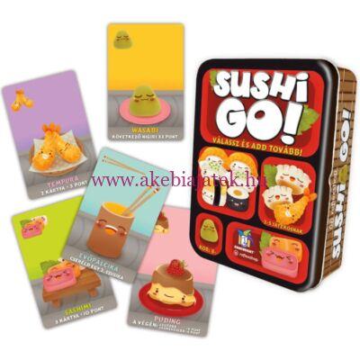Sushi go, stratégiai kártyajáték - Gamewright