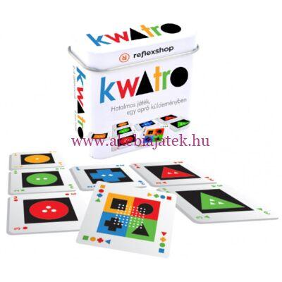Kwatro, stratégiai kártyajáték - Gamewright