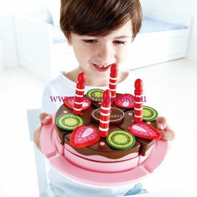Születésnapi torta fából - HAPE
