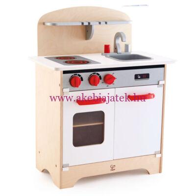 Fehér játékkonyha, White Gourmet Kitchen - HAPE