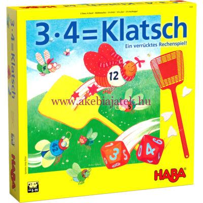 A világ 3×4=Csapj! szorzótáblás társasjáték 8 éves kortól - Habaországai társasjáték 8 éves kortól - Haba