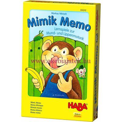 Mimik Memo logopédiai kártyajáték ÚJ KIADÁS - Haba