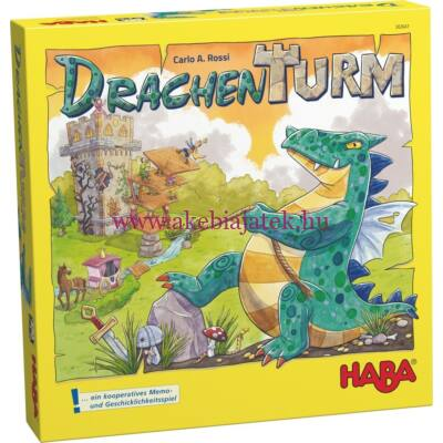 Sárkánytorony - Dragon Tower társasjáték 5 éves kortól - Haba