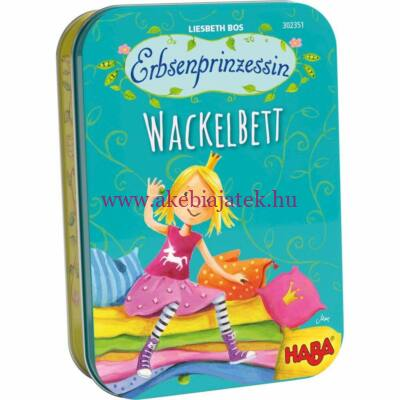 Borsószem hercegkisasszony fémdobozos kártyajáték - Haba