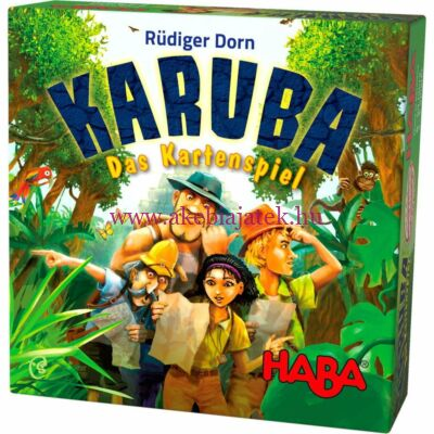 Karuba kártyajáték - Haba