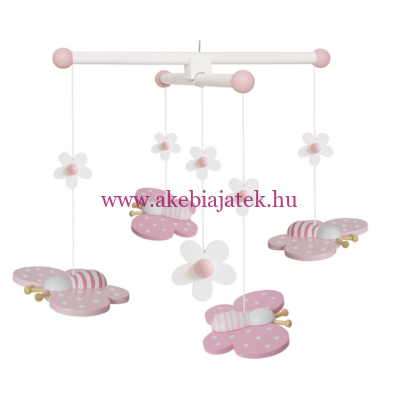 Ágyforgó pillangó - Mobile butterfly - JaBaDaBaDo