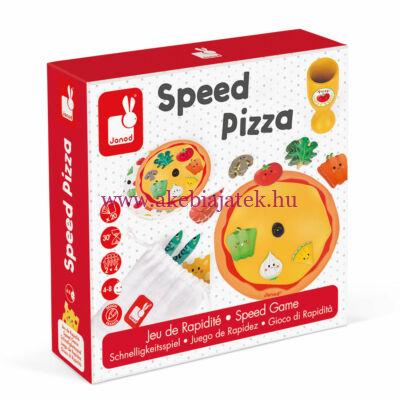 Gyors Pizza, gyorsasági társasjáték 4 éves kortól, Speed Pizza - JANOD
