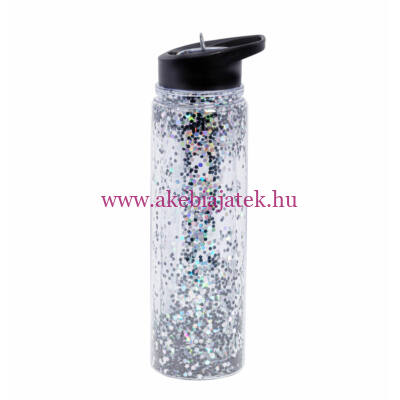 Kulacs XL, CSILLÁM – fekete/ezüst - A Little Lovely Company
