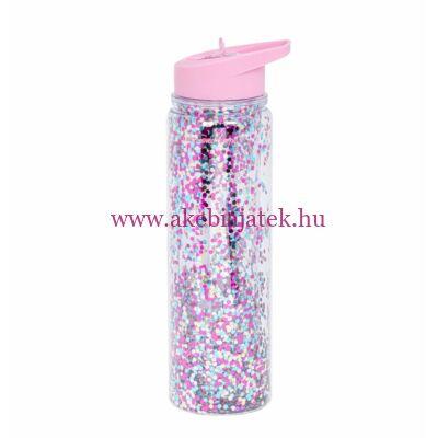 Kulacs XL, CSILLÁM – pink/sokszínű - A Little Lovely Company