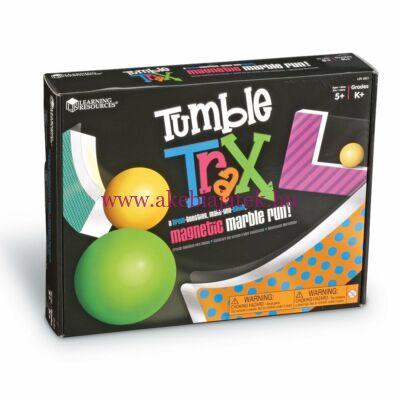Mágneses Golyópálya Építő, Tumble Trax - Learning Resources