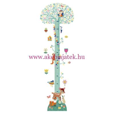 Magasságmérő falmatrica - Blossoming tree - Virágzó fa - Little BIG room by Djeco
