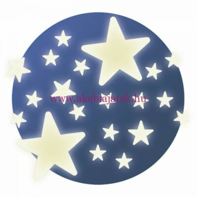 Falmatrica - Stars - Csillagok, FOSZFORESZKÁLÓ - Little BIG room by Djeco